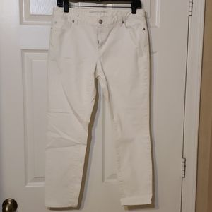 Michael Kors White Stretch Denim Jeans